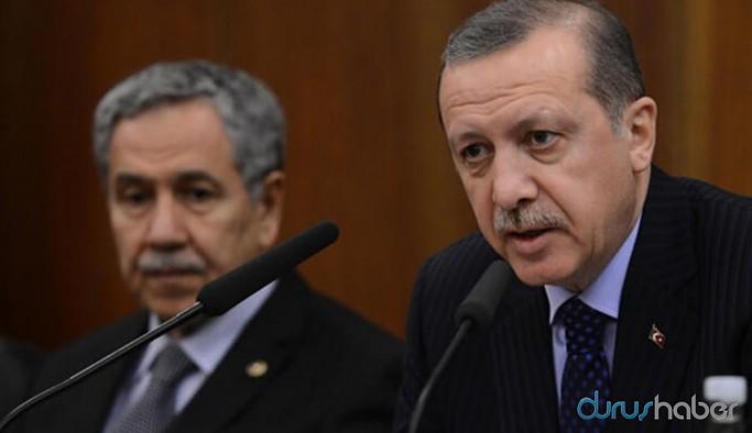 Erdoğan'dan Arınç'a: Fitne ateşi yakılmaya çalışıldığını görüyoruz
