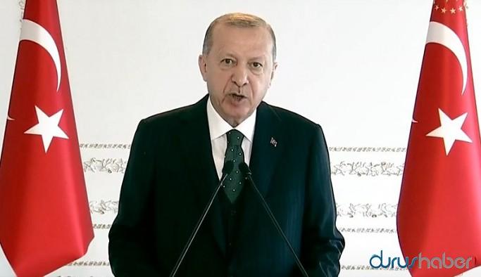 Erdoğan'dan koronavirüs tedbirleri açıklaması
