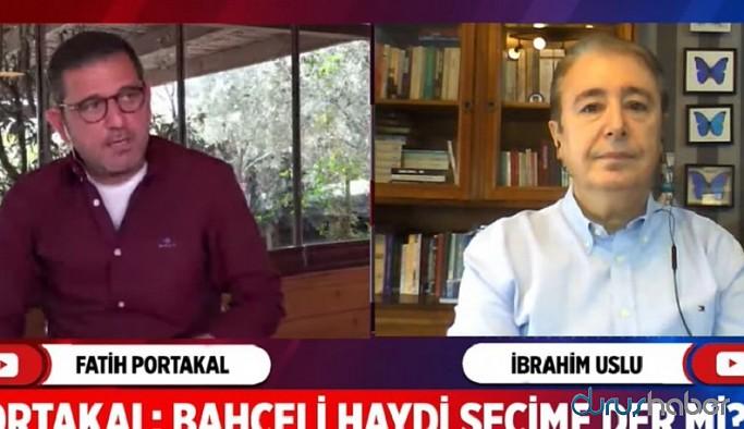 Fatih Portakal'a Bahçeli'nin erken seçim isteyeceği tarihi açıkladı!