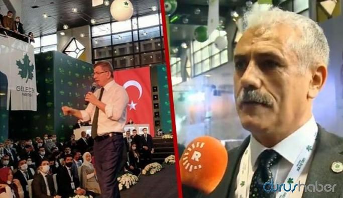 Gelecek Partisi İl Başkanı: Davutoğlu olmasaydı Kürtler...