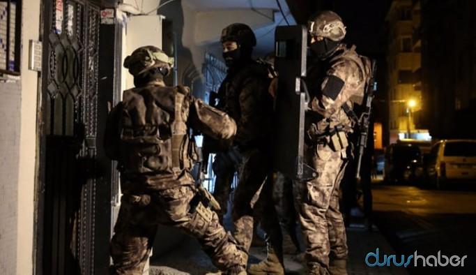 İstanbul'da 15 ilçede ev baskınları: Çok sayıda gözaltı