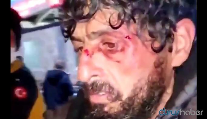 İstanbul'da hastane güvenliği evsiz adamı öldüresiye dövdü!