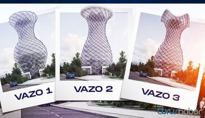 MHP'li belediyenin 'vizyon' projesi: 70 metrelik dev vazo