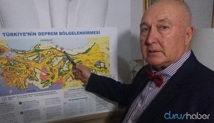 Prof. Dr. Ercan, beklenen büyük İstanbul depremi için tarih verdi