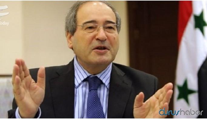 Şam hükümetinin yeni Dışişleri Bakanı Faysal Mikdad