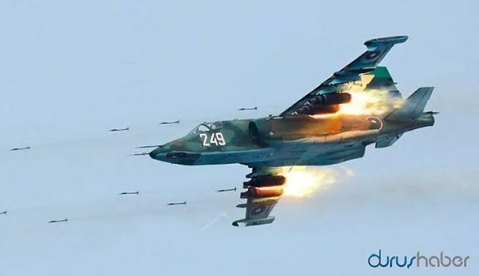 SU-25 savaş uçağı düşürüldü