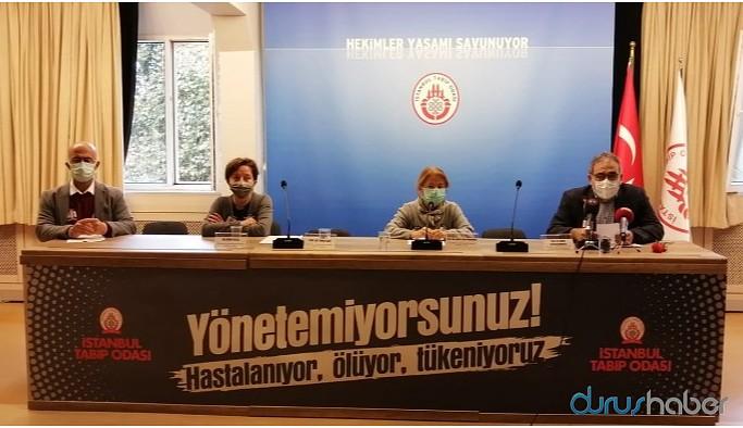 Tabip Odası: İstanbul Wuhan'ı geride bıraktı