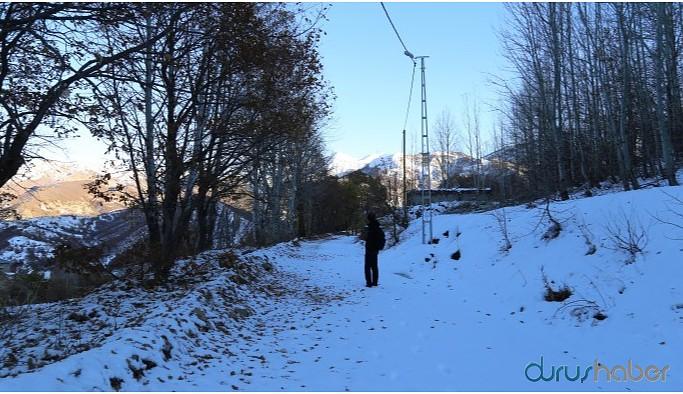 Dersim'de 56 köy yolu ulaşıma kapandı