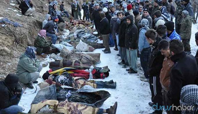 Roboski'de tersine hukuk: 34 ölüm, 34 kişiye dava