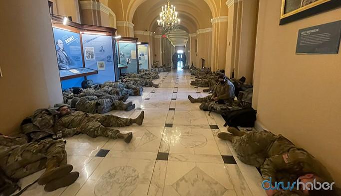 ABD Kongresi'nde azil oylaması öncesinde güvenlik önlemi