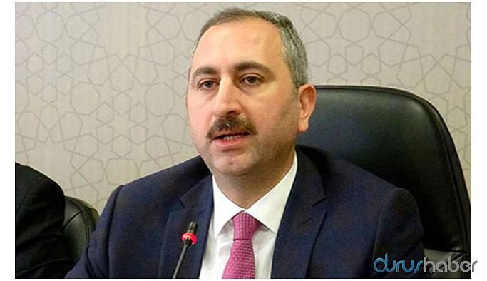 Adalet Bakanı: Yargı, kimsenin sıfatına bakmaz