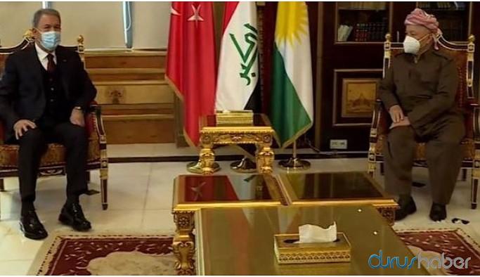 Akar ile Mesut Barzani görüştü