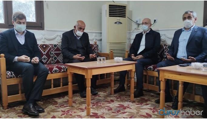 AKP'li vekilin ziyaretine özel taziye evini açtılar