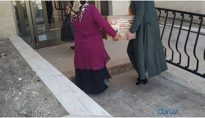 AKP, Vefa Destek Grubu'nun yardım malzemelerini dağıttı!