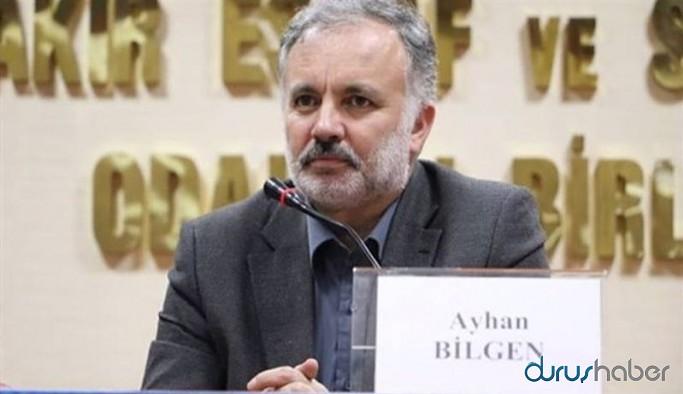Ayhan Bilgen: Edilgen pozisyon alıp sorumluluktan kaçmak yerine, yeniden yapılanmalı