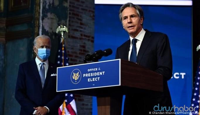 Biden'ın Dışişleri Bakanı adayı göreve gelmeden konuştu: Türkiye hakkında sert ifadeler