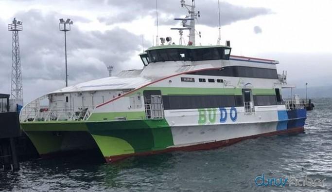 BUDO'dan fırtına nedeniyle bazı seferlerini iptal etti