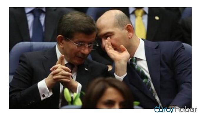 Davutoğlu: Soylu'nun yaptığı açıklama Berat Albayrak'a attığı omuz gibi