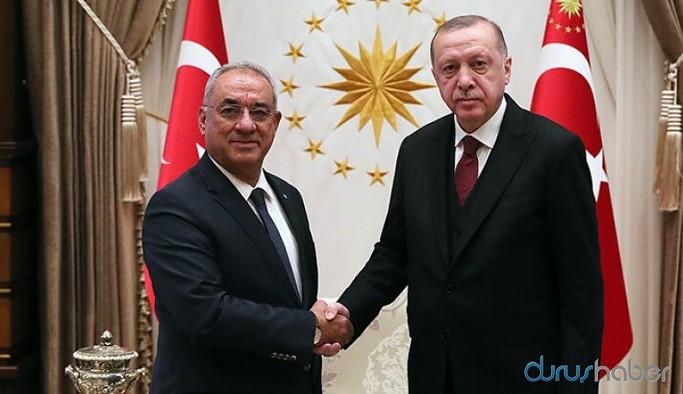 DSP Genel Başkanı Aksakal, Erdoğan'la görüşmesinde neler konuştuklarını açıkladı