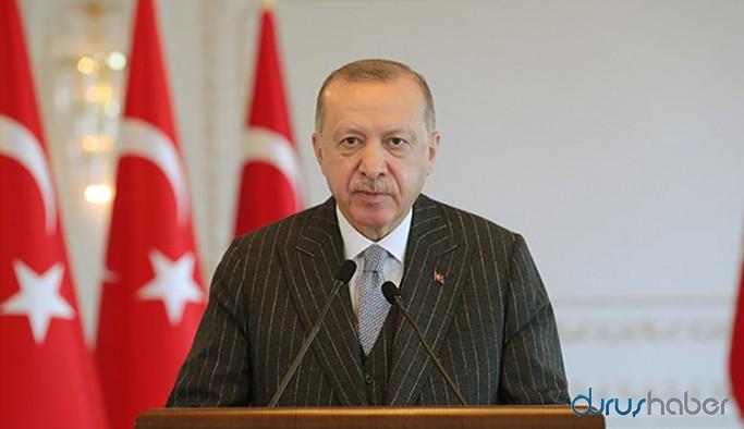 Erdoğan: Terör örgütü iltisaklı kişilerin yer aldığı eylemin demokrasiyle ilgisi yoktur