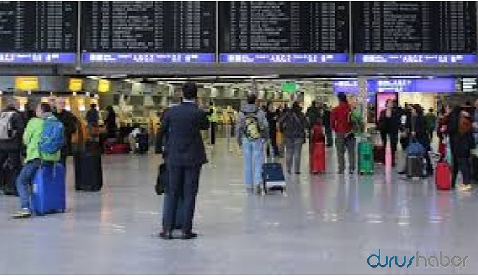 Frankfurt Havalimanı boşaltıldı