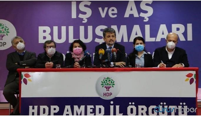 HDP 'İş ve Aş Buluşmaları'na Diyarbakır'da start verdi