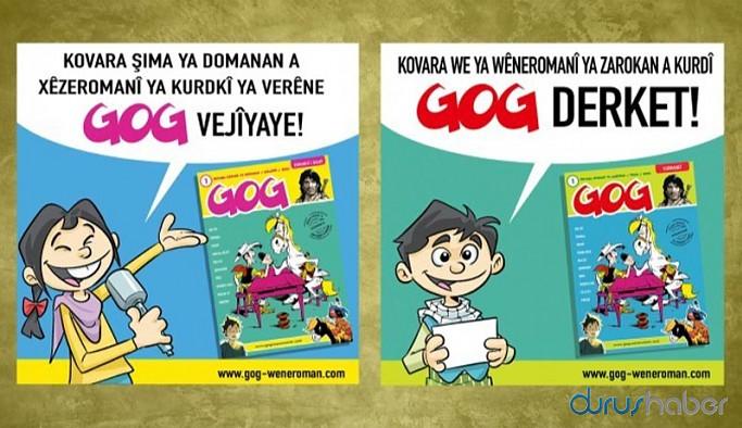 İlk Kürtçe çizgi roman çocuk dergisi 'GOG' yayın hayatına başladı