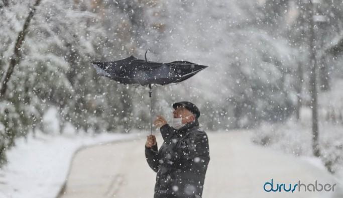 İstanbul'da kar yağışı kaç gün sürecek? Meteoroloji'den açıklama