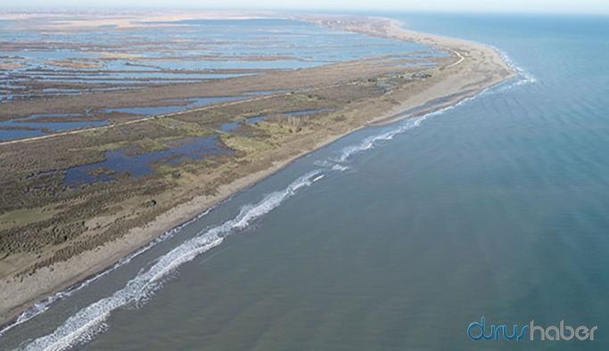 Kızılırmak Deltası Kuş Cenneti tuzlu su tehdidi altında