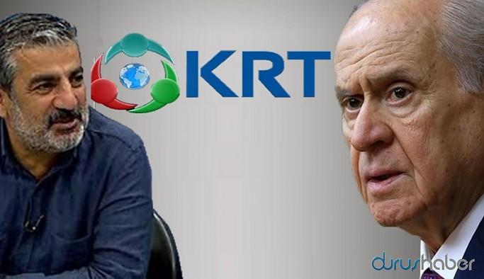 KRT TV'den medyayı hedef alan Devlet Bahçeli'ye açık çağrı