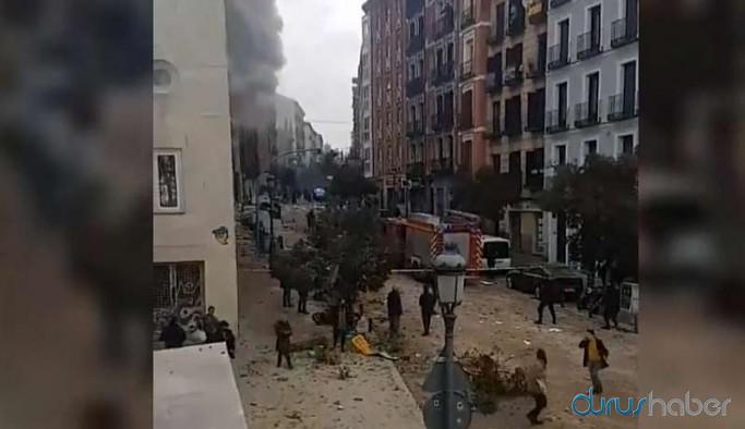 İspanya'nın başkenti Madrid'de patlama: En az 2 kişi hayatını kaybetti, çok sayıda yaralı var