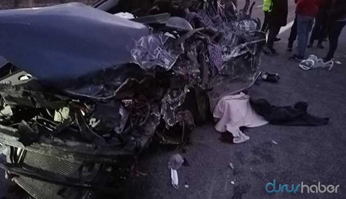 Mersin'deki kazada aynı aileden 5 kişi hayatını kaybetti, 2 yaralı