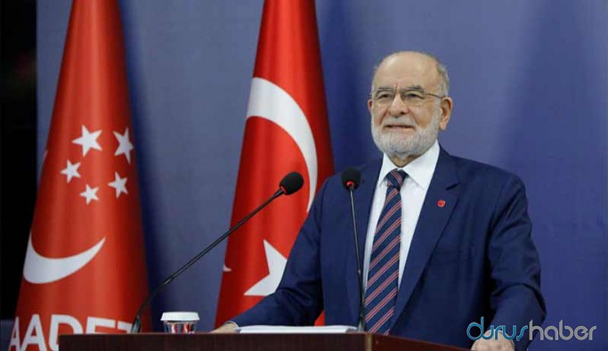 Saadet Partisi Genel Başkanı Karamollaoğlu: Saraya değil üretim tesisine ihtiyaç var