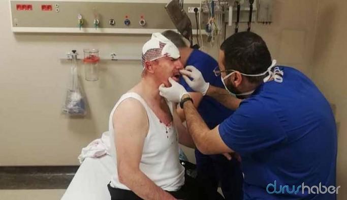 Selçuk Özdağ'a saldırı anının yeni görüntüleri