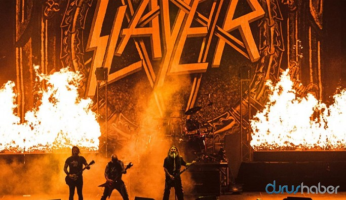 Slayer'ın İstanbul konserinin görüntüleri 23 yıl sonra ortaya çıktı
