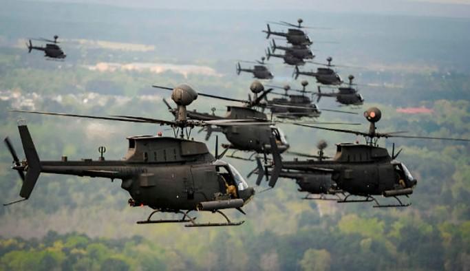 145 helikopter getiren ABD, Batı Trakya'da Yunanistan'la ortak tatbikat yapacak