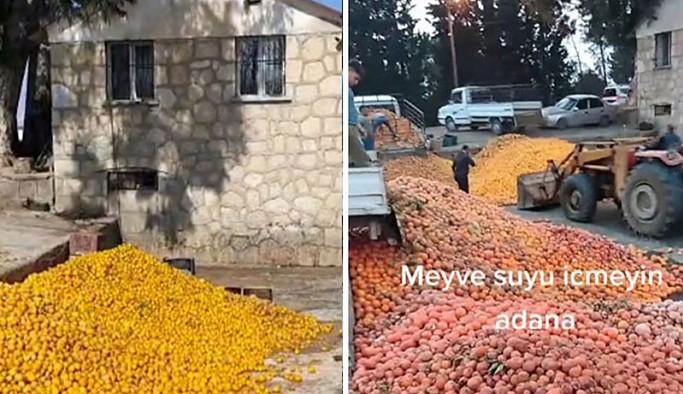 Adana'da çürük portakallarla meyve suyu yapıldığı iddiasına denetleme: Gerçeği yansıtmamakta