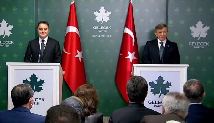 Davutoğlu, Babacan'ı ziyaret etti: Tüm bunlar erken seçim işaretidir