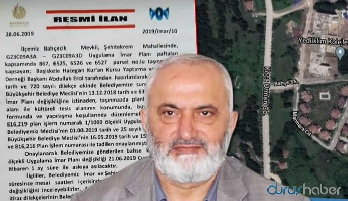 AKP'li belediyeden tarikata 20 dönüm arazi