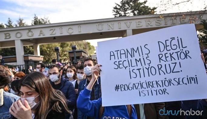 Boğaziçi Üniversitelilerin eylemi New York Times'ta