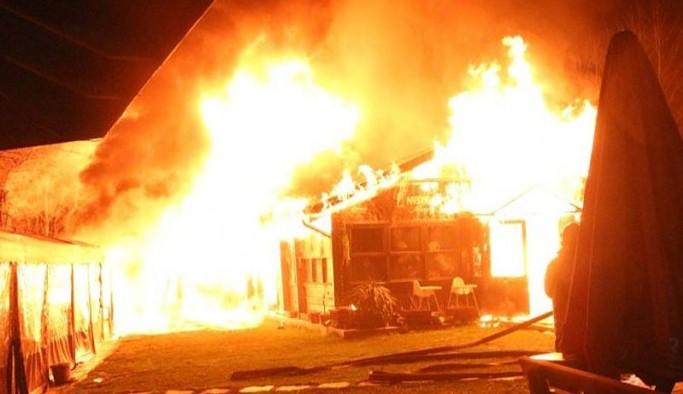 Boğaziçi Üniversitesi'nde yangın