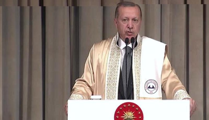 Erdoğan'dan üniversite açıklaması