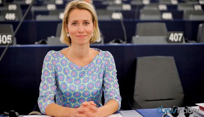 Estonya'nın ilk kadın başbakanı Kallas: Önemli olan cinsiyet değil, işinin ehli olmak
