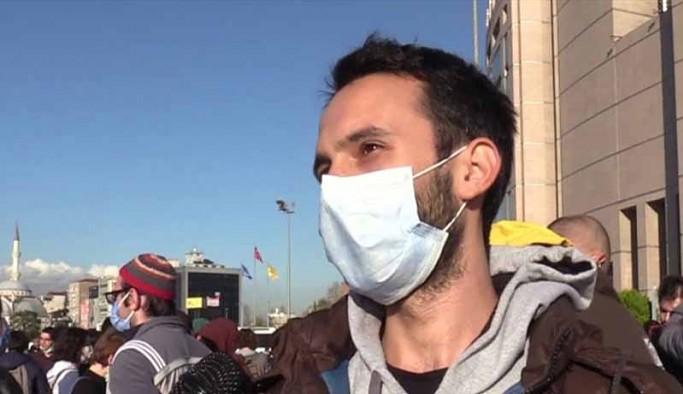 Foto muhabiri Ozan Acıdere Boğaziçi Üniversitesi önünde gözaltına alındı