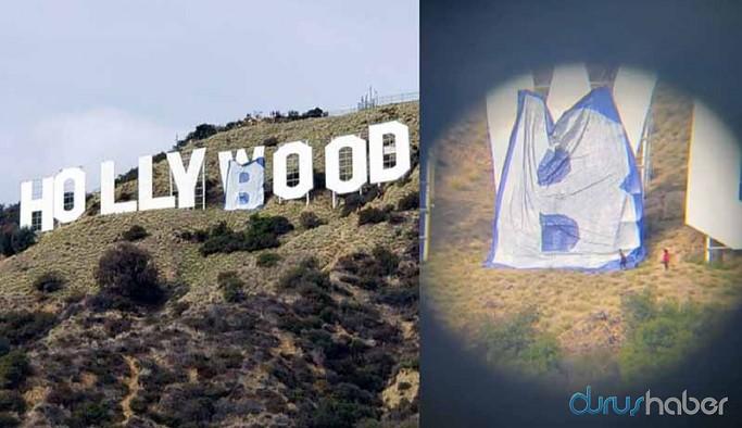 Hollywood tabelasında değişiklik yapan 6 kişiye tutuklama