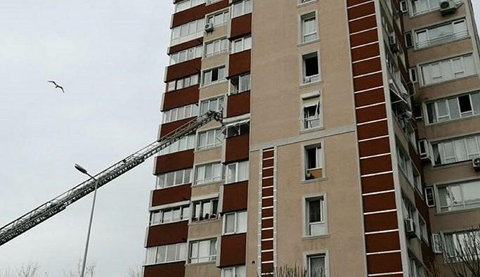 İstanbul'da apartmanda patlama!