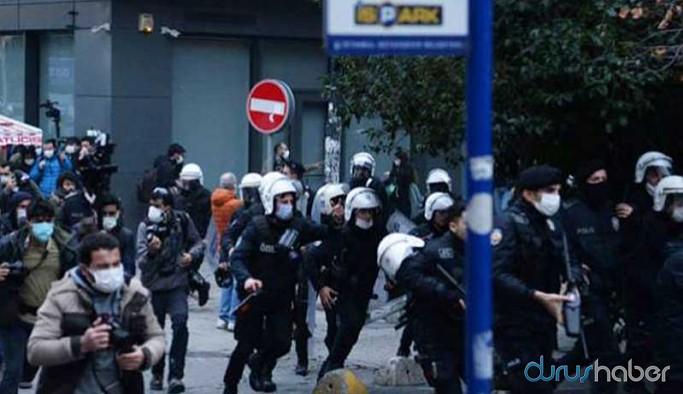 İzmir'de Boğaziçi Üniversitesi öğrencileri ile dayanışma eylemine müdahale