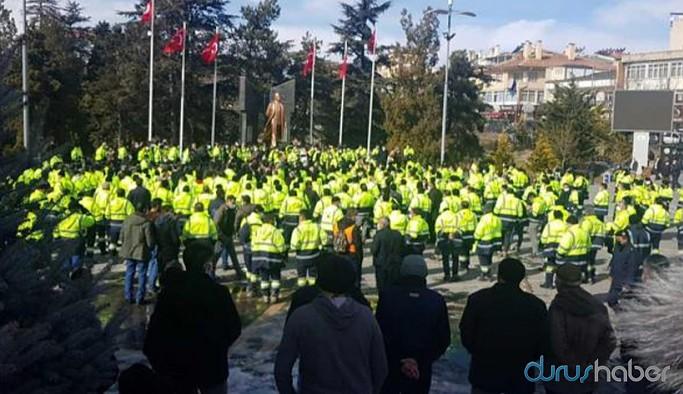 Kayseri'de maden işçileri iş bıraktı: İşçiler bugün konuşacak yöneticiler dinleyecek