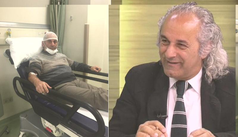 KRT TV programcısı Osman Güdü'ye saldırı: Kafasına 9 dikiş atıldı