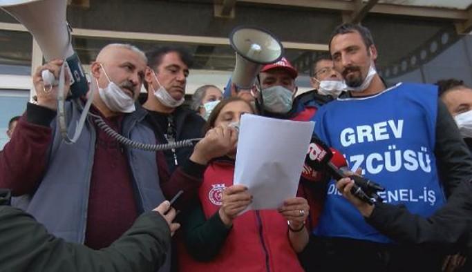 Maltepe Belediyesi işçisi grev oylamasındayken, Genel-İş Merkezi yine imzayı attı